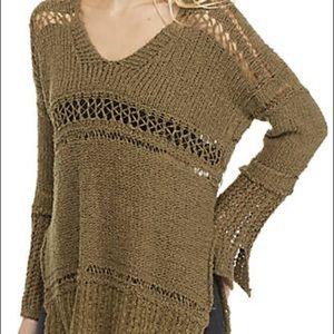 FREE PEOPLE Belong 2 U sweater NWT